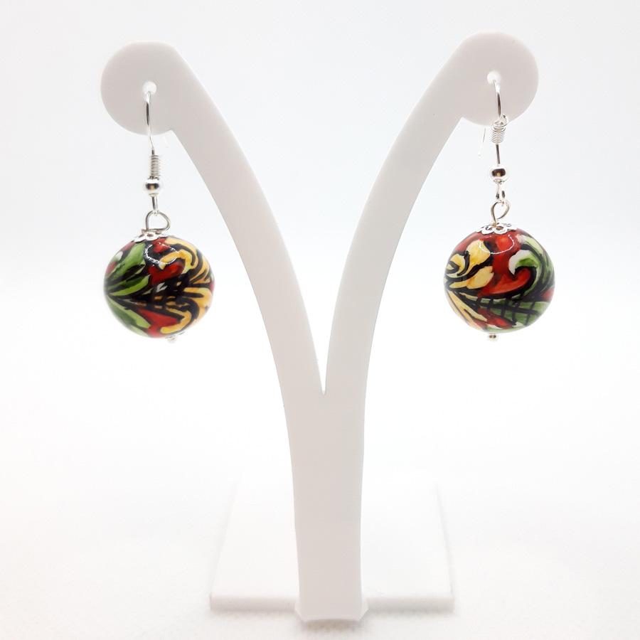 orecchini-ceramica-caltagirone